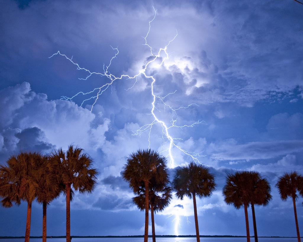 Sand Key Beach Lightning